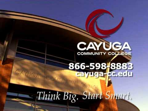 Cayuga County Community College Registration ad