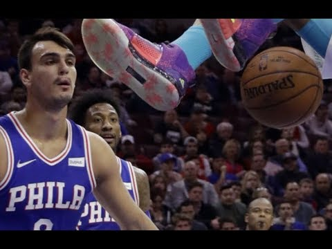Dario Saric vs Hornets Full Highlights (5PTS 1REB 3AST) March 19, 2018