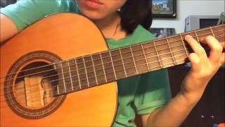 Yêu (Min ST319) guitar solo