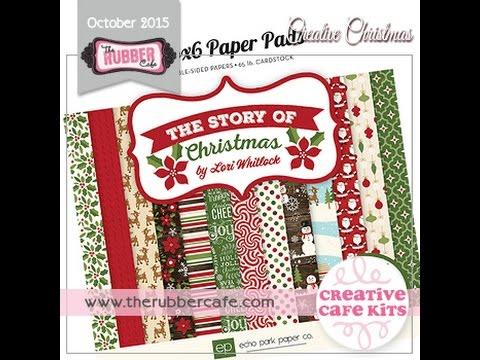 October Creative Cafe' Kit - Creative Christmas