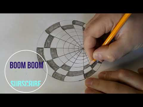 How To Draw Optical Illusion On Paper. Optical Illusion Hole