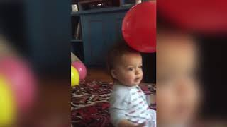 Top 10 FUNNY BABIES PLAYING WITH BALLOONS | Funny Babies and Pets