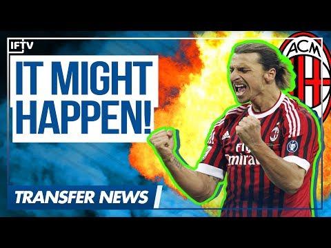 COULD ZLATAN IBRAHIMOVIC MAKE A RETURN TO AC MILAN? | Serie A Transfer News