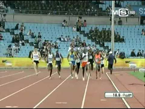 2010 Colorful Daegu Pre-Championships Meeting 800m