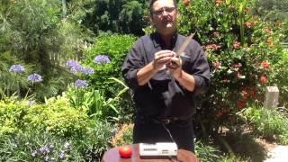 learn how to sharpen a knife on a nirey ke 198 electric sharpener