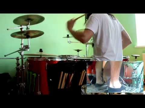 Stas Chernov ||| As I Lay Dying - Empty Hearts (drum Cover)