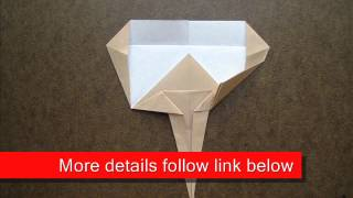 How To Fold Origami Gingko Biloba - Origamiinstruction.com