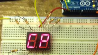 Directly Driving 7-Segment Display with AVR IO Pins