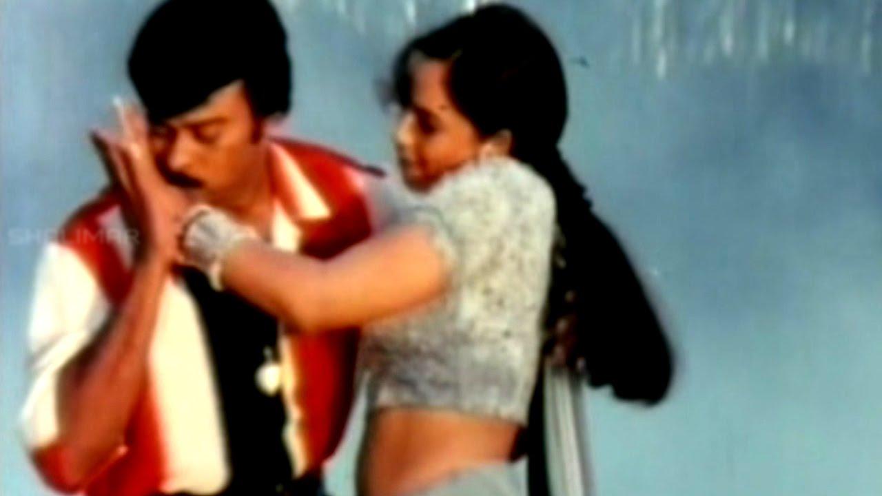 Chiranjeevi & Anjala Zaveri Love Scene