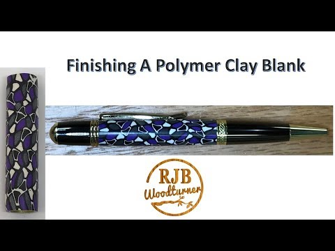 Finishing A Polymer Clay Blank