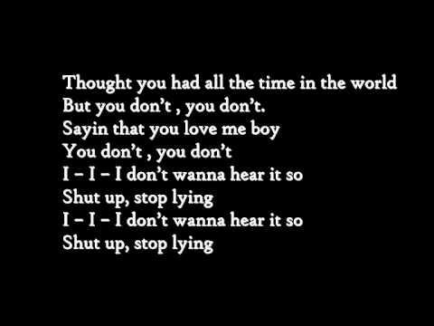 Keke Palmer-Shut up Stop lyin (With Lyrics on screen and in description)