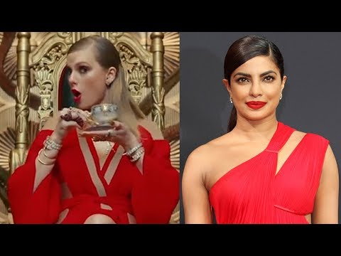 Taylor Swift SHADES Priyanka Chopra & Tom Hiddleston In LWYMMD Video?