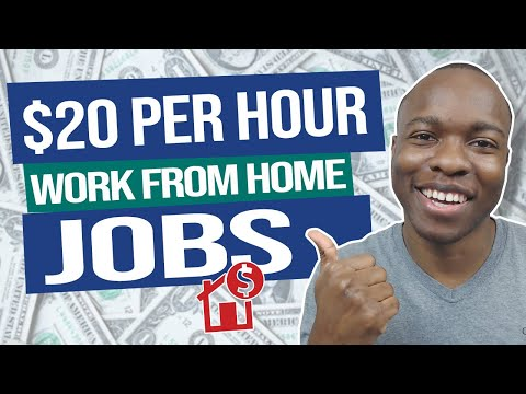 Websites Paying YOU To EARN $20+ Per Hour (Work From Home Jobs That Pay Well)