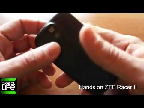 Hands on ZTE Racer II (Greek)