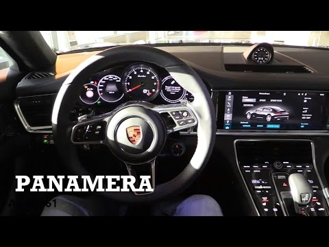 2017 Porsche Panamera - interior Review