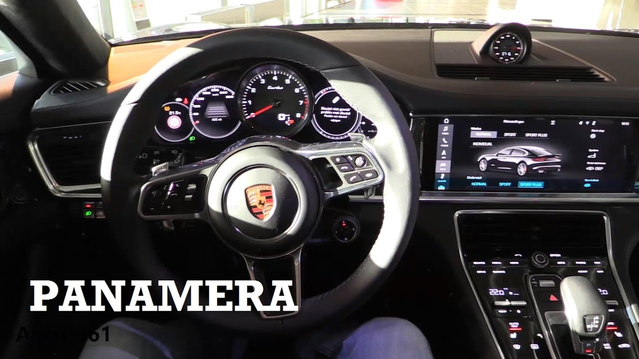 2017 Porsche Panamera Interior Review Youtube