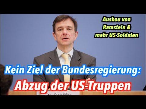 Abzug der US-Truppen aus Deutschland ist kein Ziel der Bundesregierung