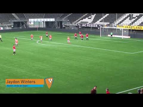 Oranje Nassau JO13-1 - SJO JCO 13-1 6-3 (3-1, 4-2)