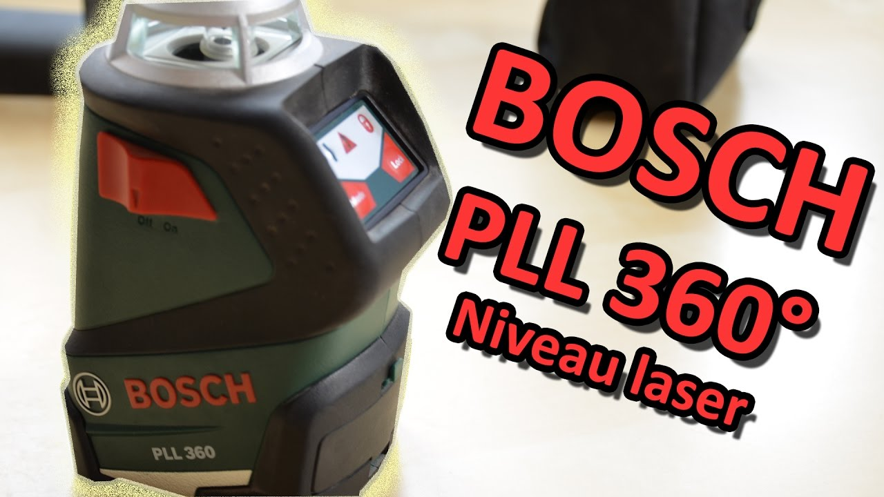 bosch pll 360 niveau laser automatique pr sentation youtube. Black Bedroom Furniture Sets. Home Design Ideas