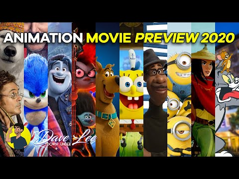ANIMATED MOVIES 2020 - All 19 Movies Previewed, Explained & Detailed