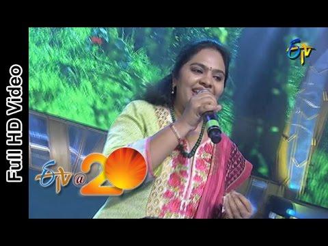 Gopika Poornima Performance - Sirimalle Puvva Song In Viajaywada ETV @ 20 Celebrations