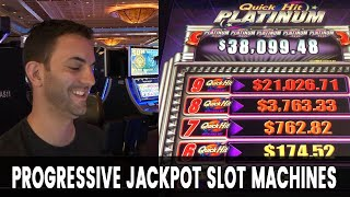 🔴 LIVE $500 Slots Play 💰 Progressive Jackpot Machines with Brian Christopher #Ad