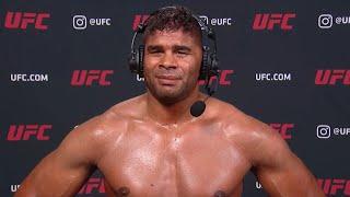 UFC Vegas 9: Alistair Overeem Interview after KO win