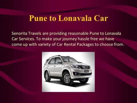 Cars On Rent In Pune Senorita Cab Youtube