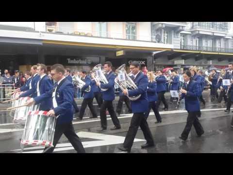 Marsch MG Konkordia - Eidgenössisches Musikfest 2016 (Montreux)