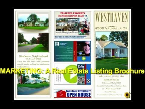 real estate marketing brochure