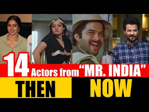"""14 Bollywood Actors from """"MR. INDIA"""" 1987 