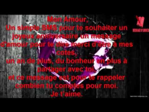 TEXTES D'ANNIVERSAIRE ROMANTIQUES