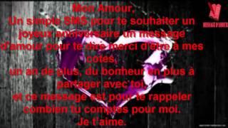 TEXTES D'ANNIVERSAIRE ROMANTIQUES thumbnail