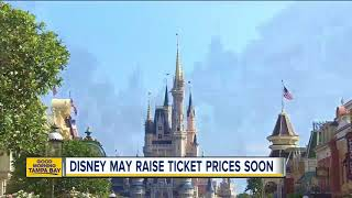 Disney expected to raise ticket prices amid dozens of construction projects