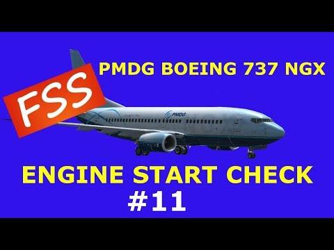 PMDG 737 Engine Start Checklist-How To Start The Engine Full Procedure