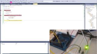 atmel studio programming and debugging