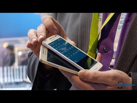 Samsung Galaxy A3 hands-on (CES 2015)