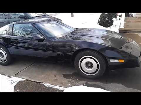 Estate Sale Finds ~ 1984 Corvette (C4) 5.7L 350 V8 Engine 200+ HP Bose Speaker System