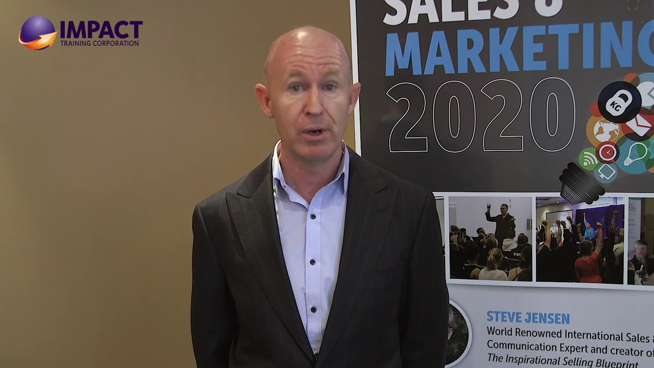 Impact Training - Double or Triple Your Sales Income