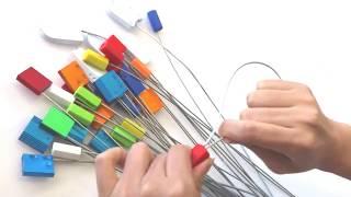Как использовать тросовую контрольную пломбу