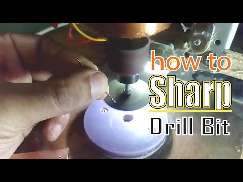 How to Sharpen Twisted Mini Drill Bit - DIY Jig For Your PCB Drilling Machine (Bangla)