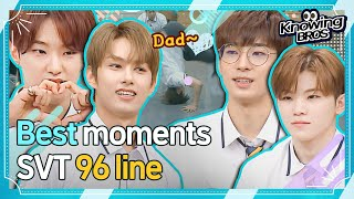 "Download [SEVENTEEN@Knowingbros] ""Dad~♥""  Jun, Hoshi, Wonwoo, WOOZI ☆Best moments★│EP.192"