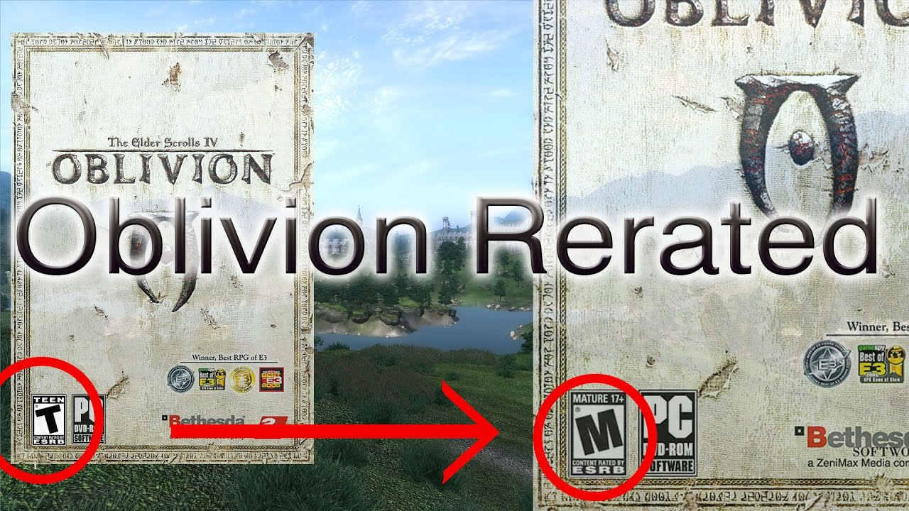 That elder scrolls oblivion mature review