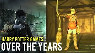 Harry Potter Games Over the Years | New Harry Potter RPG Leaked