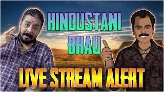 Hindustani Bhau & Gaitonde Charity Live Streaming Announcement PUBG | Saturday 6 PM