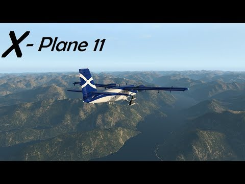 X-plane 11! Snow Runway On Skis!