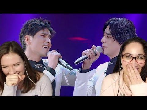 阿云嘎 A Yun Ga  & 郑云龙 ZHENG Yunlong 《I'll Cover You》 Super-Vocal Reaction