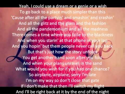 Songtext von B.o.B feat. Hayley Williams - Airplanes Lyrics