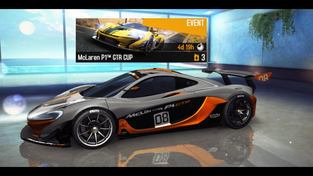asphalt8 mclaren p1 gtr cup in tenerife youtube. Black Bedroom Furniture Sets. Home Design Ideas