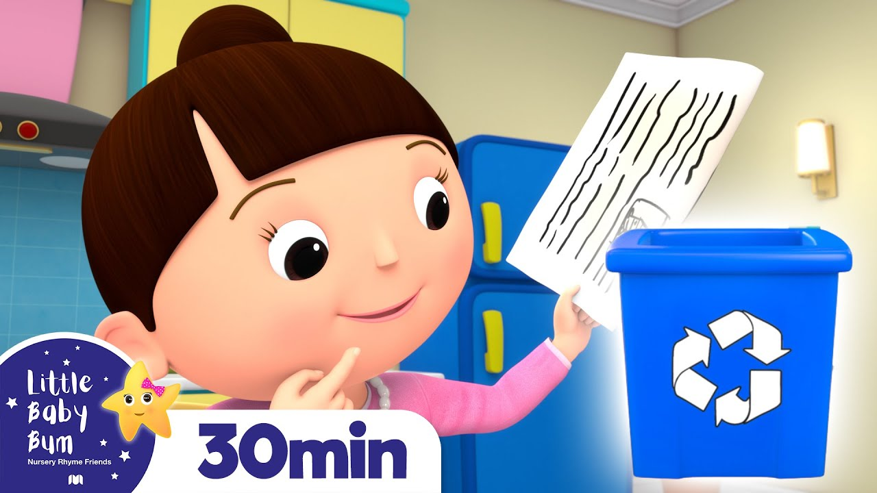 Download Recycling Song   Earth Day +More Nursery Rhymes and Kids Songs   Little Baby Bum